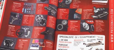 Annonce presse Passion Auto