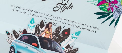 Pop-up Renault / Marie-Claire